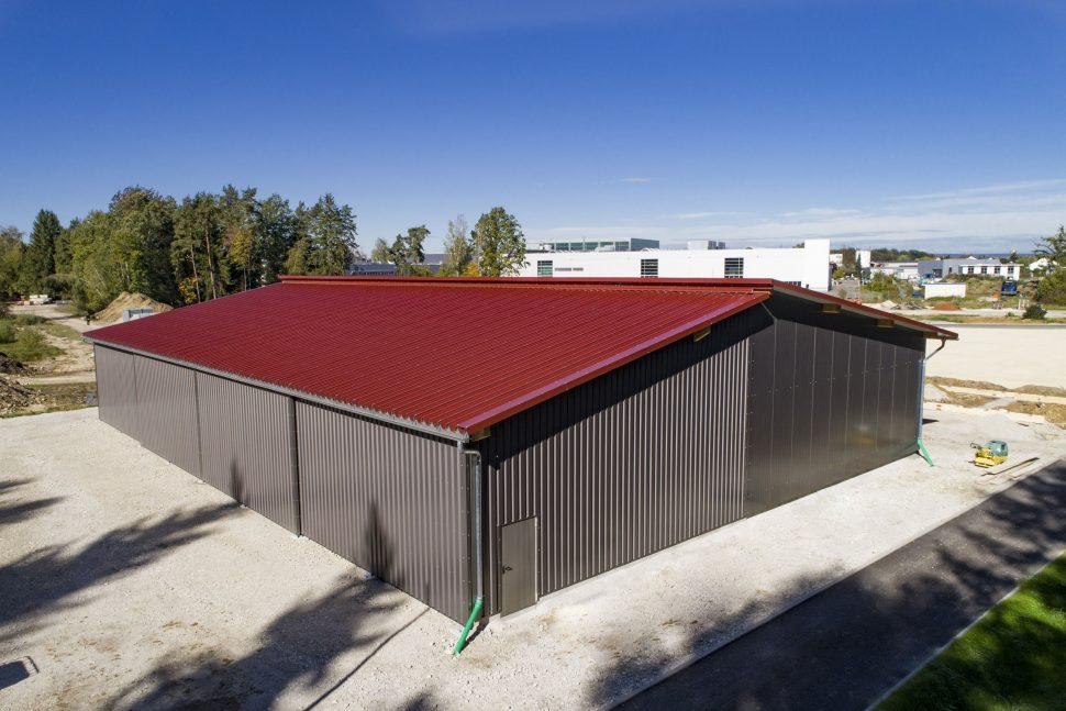 Hallenbau Trapezdach